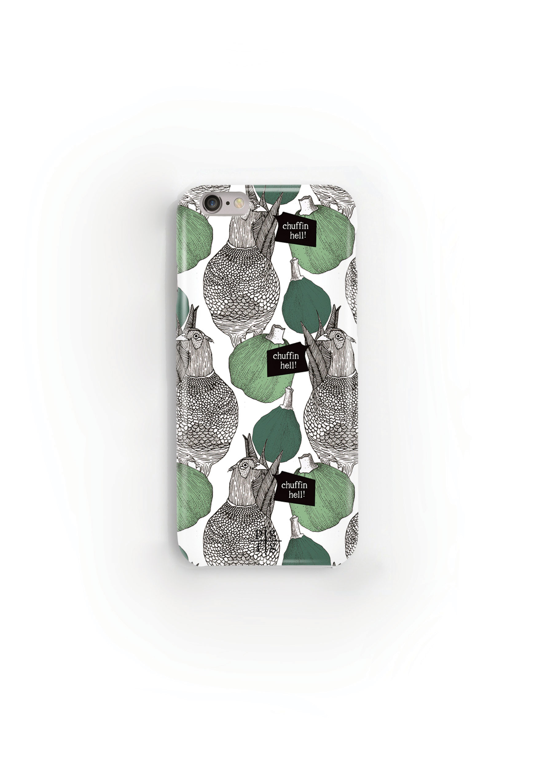 Pheasant & Green Fig Phone Case