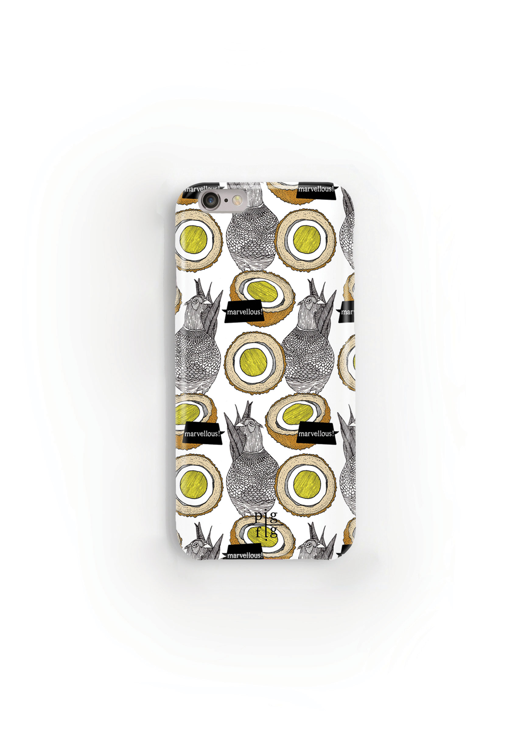Pheasant & Scotch Egg Phone Case